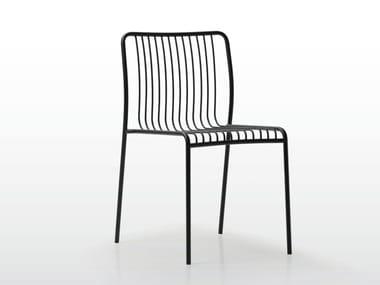 Stackable steel garden chair GILDA | Chair