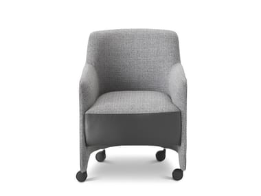 Easy chair with castors GILL