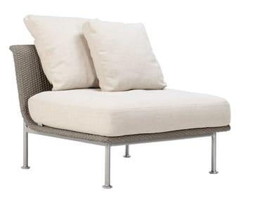Modulo centrale per divano in corda nautica GINA MODULO CENTRALE