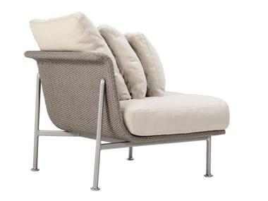 Modulo angolare per divano in corda nautica GINA MODULO ANGOLARE