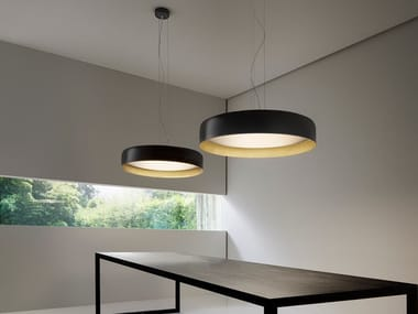 LED direct-indirect light pendant lamp GINEVRA | Pendant lamp