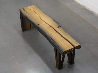 Bog oak bench GINGER