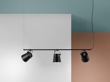 LED aluminium pendant lamp GINZA - HORIZONTAL