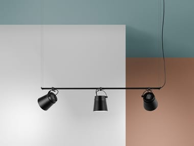 Lámpara colgante LED de aluminio GINZA - HORIZONTAL