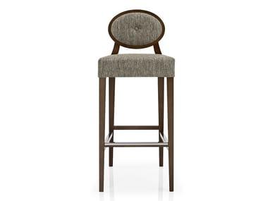 Cadeira de tecido com apoio de pés GIOCONDA   Cadeira