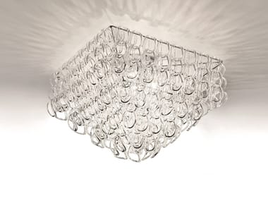 Crystal ceiling lamp GIOGALI PL 65Q