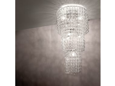 Crystal ceiling lamp GIOGALI PL CA3
