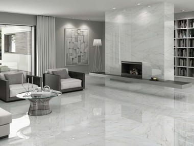 Wall/floor tiles with marble effect GIOIA