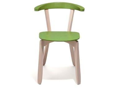 Beech chair GIORDY   Chair