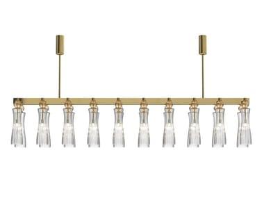 Murano glass chandelier GIORGIONE