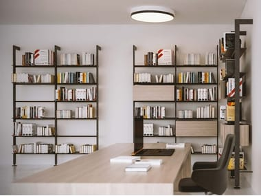 Open wall-mounted shelving unit GIOSTRA L