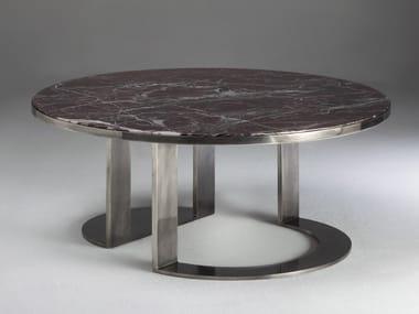 Mesa de centro baixa de mármore GIOTTO