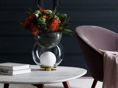 Glass table lamp / vase GIOVA LED