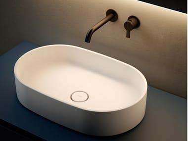 Countertop oval washbasin GIRO | Washbasin