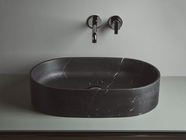 Countertop Solid Surface washbasin GIRO | Oval washbasin