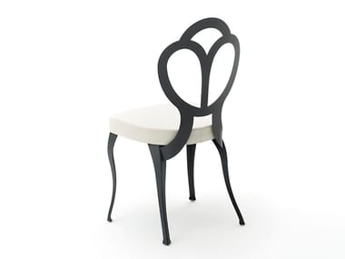 Upholstered fabric restaurant chair GIULY | Restaurant chair