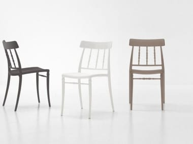 Stackable polypropylene chair GIUSEPPINA