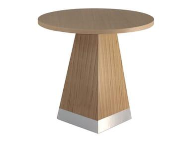 Tavolo rotondo in legno lamellare GIZA   Tavolo rotondo