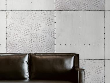 Industrial and modern wallpaper, PVC free, eco, washable GLACIAL