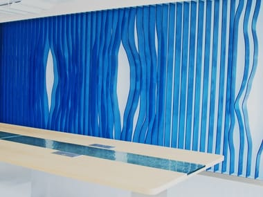 Glass room divider GLASS WALL