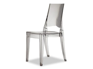 Stackable polycarbonate chair GLENDA | Chair