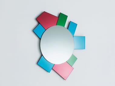 Espelho redondo moldurado de parede GLI SPECCHI DI DIONISO 6