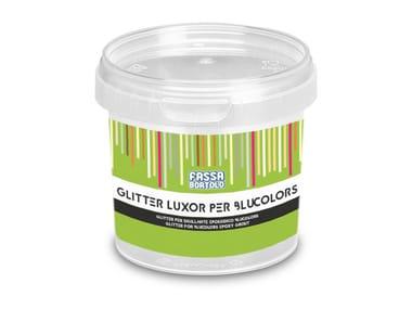 Glitter per l'additivazione della linea Blucolors GLITTER LUXOR PER BLUCOLORS