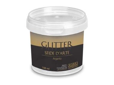 Additivo in pasta a base di glitter lamellari GLITTER SFIDE D'ARTE
