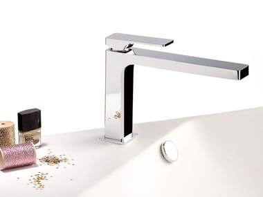 Countertop single handle washbasin mixer GLITTER | Single handle washbasin mixer
