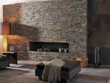 Natural stone wall tiles GLOBE