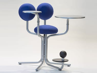 Ergonomic task chair with 4-Spoke base GLOBE TREE