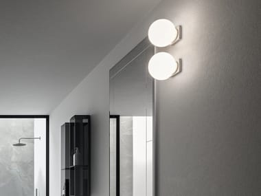 LED glass wall lamp GLOBO