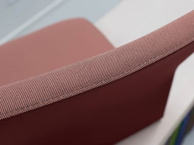 Solid-color Trevira® CS upholstery fabric GO CHECK