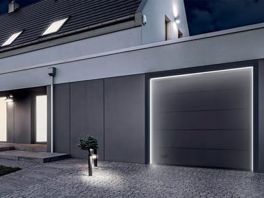 Perimeter LED system for sectional doors GO-LIGHT