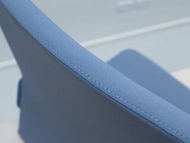 Solid-color Trevira® CS upholstery fabric GO UNI