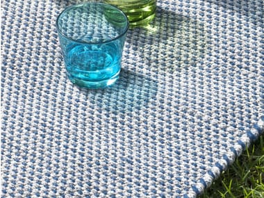 Handmade rectangular outdoor rugs GOA