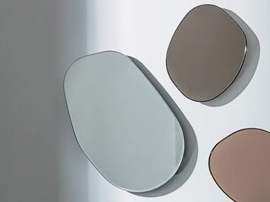 Wall-mounted mirror GOCCE DI RUGIADA