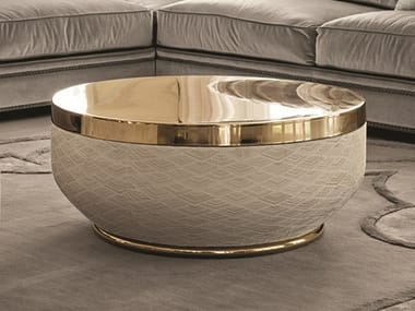 Low round coffee table GODWIN | Low coffee table