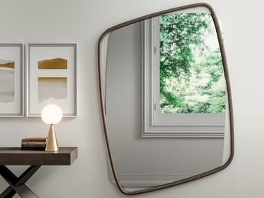 Specchio in legno con cornice da parete GOLDEN BIG