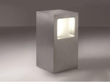 Anodized aluminium bollard light GOLIATH K