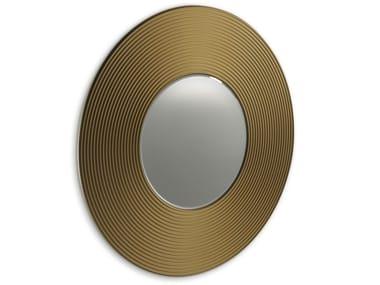 Specchio rotondo in MDF da parete GONG A