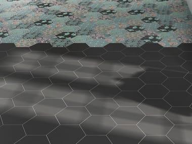 White-paste wall/floor tiles GOOD VIBES