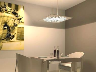 Lampada a sospensione a LED in alluminio GOTHIC | Lampada a sospensione