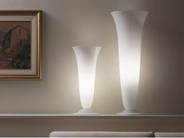 Blown glass table lamp GOTO LT