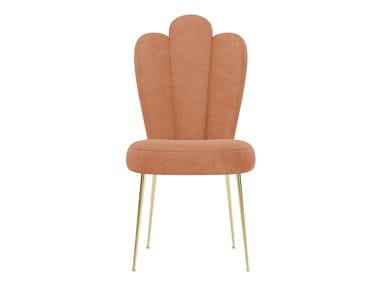 Upholstered fabric chair GRACE | Chair