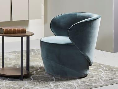 Velvet easy chair GRACE | Easy chair