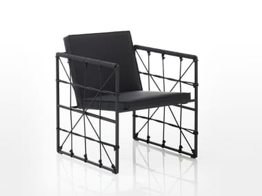 Easy chair with armrests GRACE | Easy chair