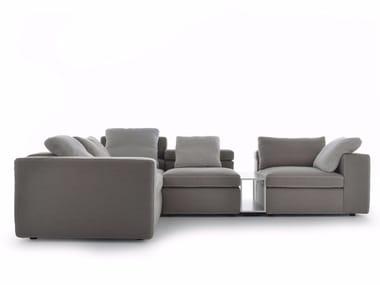 Canapé d'angle composable en tissu GRAFO | Canapé d'angle