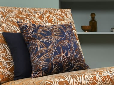 Viscose fabric with floral pattern GRAMINAE