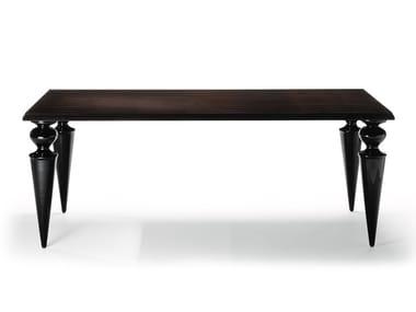 Tavolo da pranzo rettangolare in legno GRAN CANAL | Tavolo in legno
